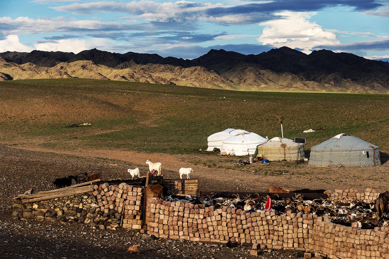 蒙古的南戈壁省的戈壁沙漠(图:AFP / Joel Saget)